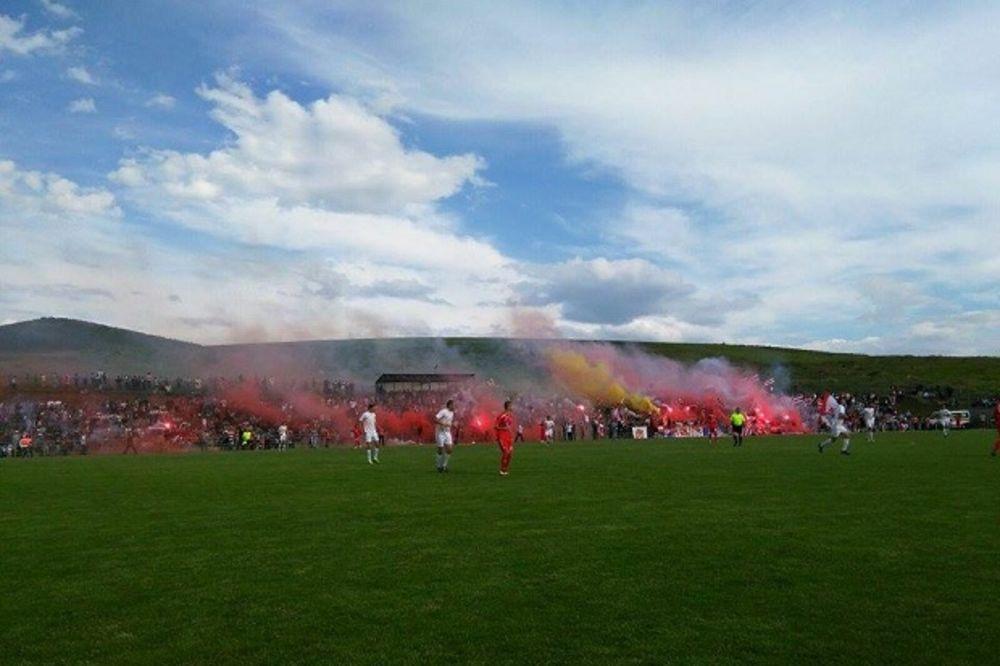 (KURIR TV) EMOCIJE I GOLOVI: Fudbaleri Crvene zvezde napravili spektakl u Gračanici