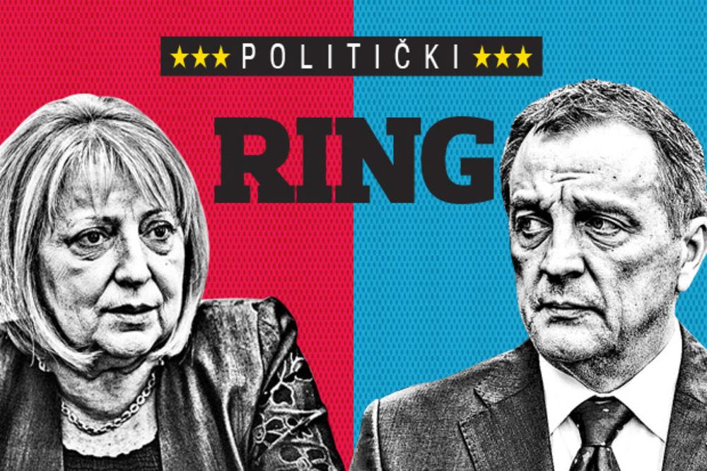 POLITIČKI RING: Slavica Ðukić Dejanović vs Zoran Živković
