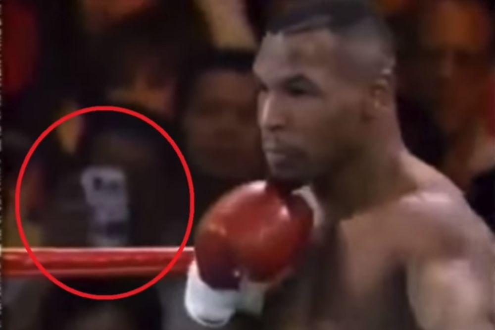 (VIDEO) PUTOVAO KROZ VREME DA VIDI TAJSONA: Čovek iz budućnosti na snimku boks meča iz 90-ih