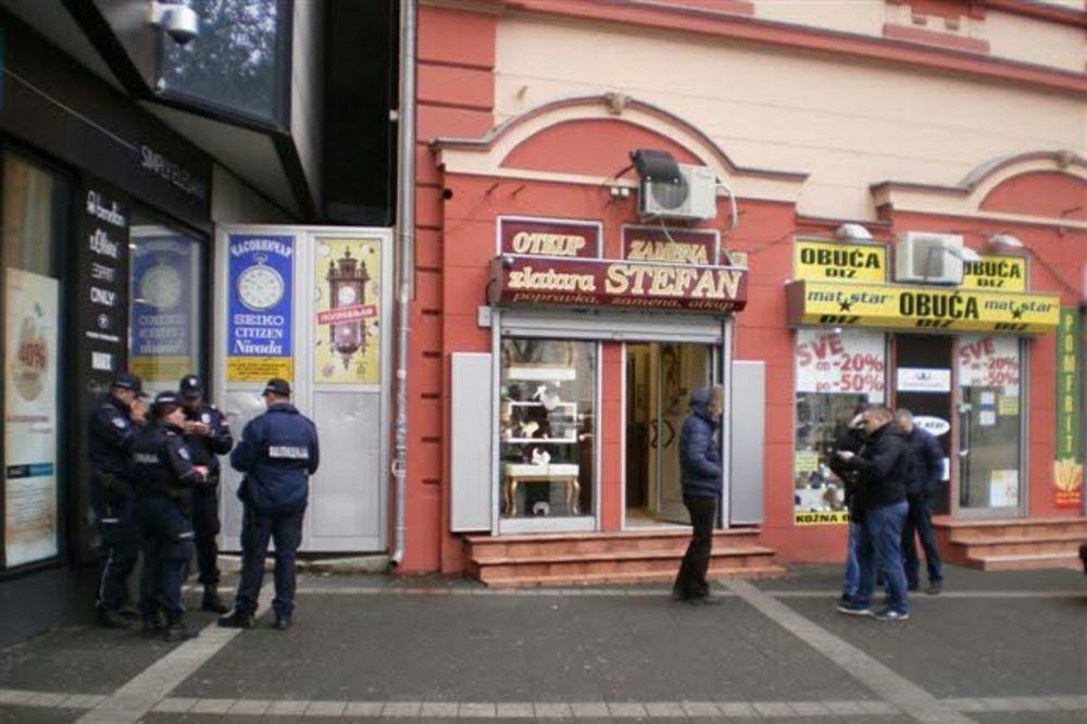 PLJAČKA ZLATARE STEFAN U NS: Uhapšen i drugi pljačkaš