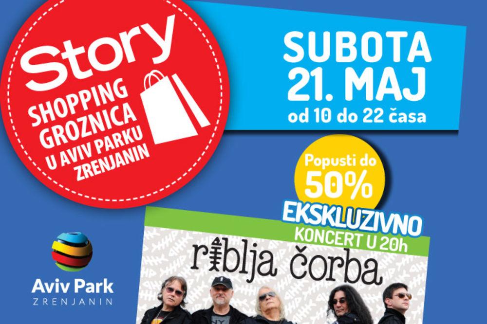 Ovog vikenda u Zrenjaninu: Velika Story šoping groznica