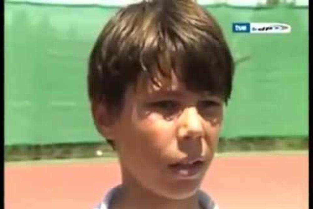 HIT FOTKA: Evo kako je izgledao Nadal kada je Federer poslednji put propustio Gren slem!