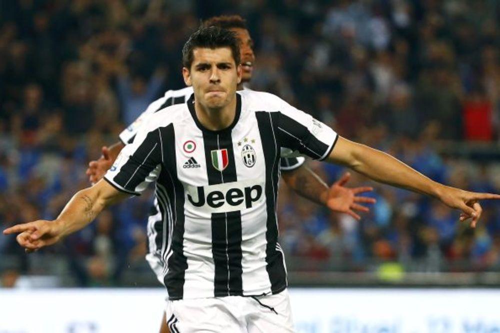 (VIDEO) ŠPANAC ŠOKIRAO MILAN: Morata doneo Juventusu duplu krunu