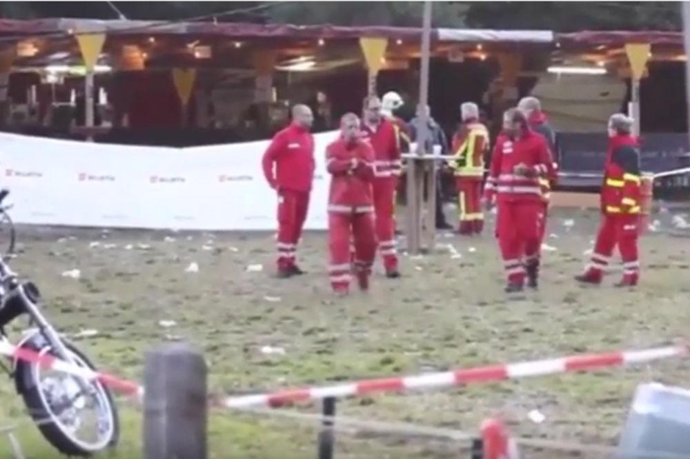 VIDEO  NAPAD NA KONCERTU U AUSTRIJI  Ubijeno dvoje, povređeno 11 ljudi u Nencingu!