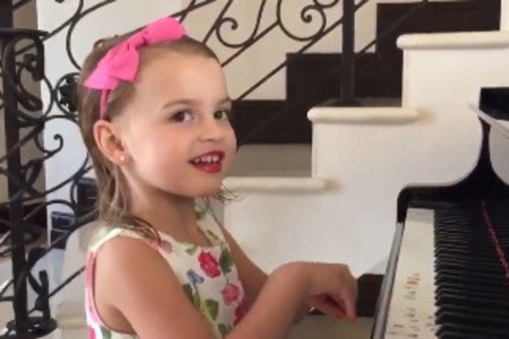 (VIDEO) NAJMEDENIJA ČESTITKA: Evo kako je jedna preslatka devojčica poželela Noletu srećan rođendan!