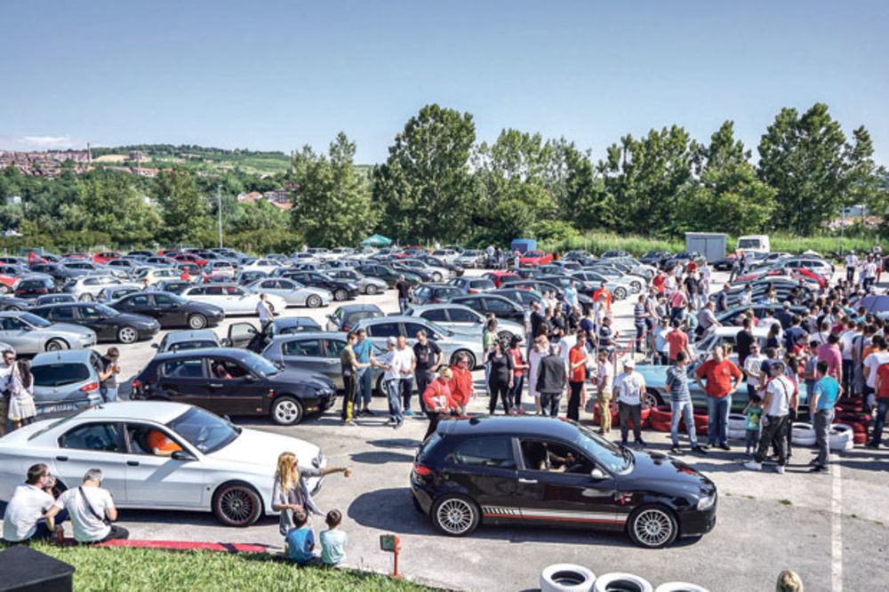 TRADICIJA: Deveti skup Alfa Romeo kluba