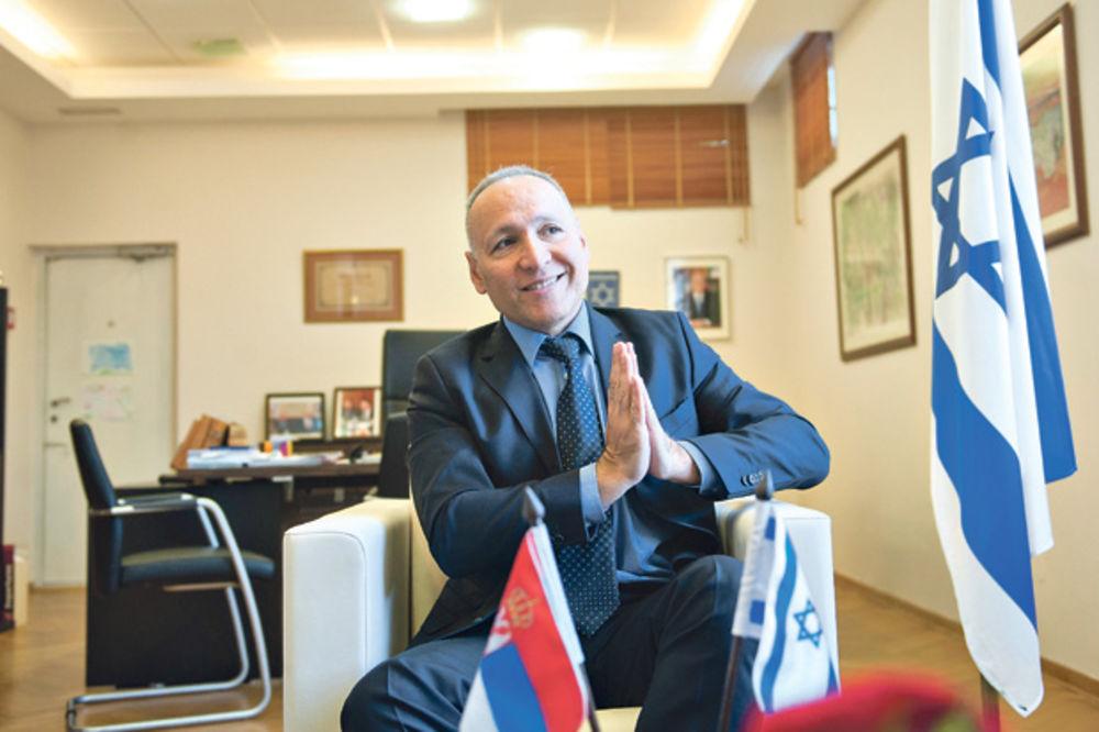 EKSKLUZIVNO AMBASADOR IZRAELA ZA KURIR: Sramota je što u Hrvatskoj veličaju ustaše