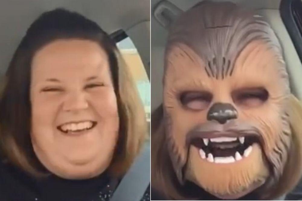 ČUBAKA JE PRONAŠAO SVOJU SREĆU: Ovo je najgledaniji video na Fejsbuku ikada. Plakaćete od smeha!