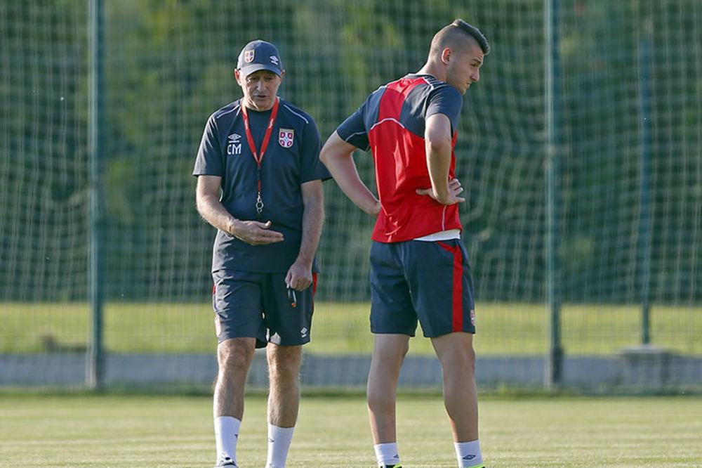 PRVI RADNI DAN: Ovako je Muslin održao trening sa fudbalerima Srbije