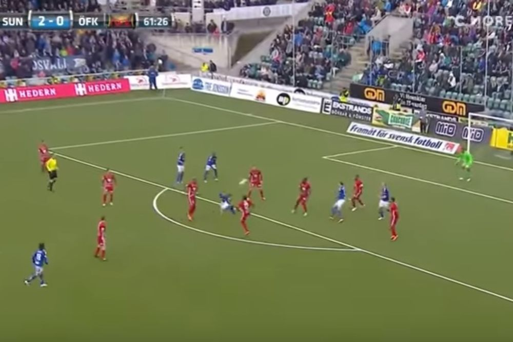 (VIDEO) GOL KOJI SE RETKO VIĐA: Da li je Švedska dobila novog Ibrahimovića?