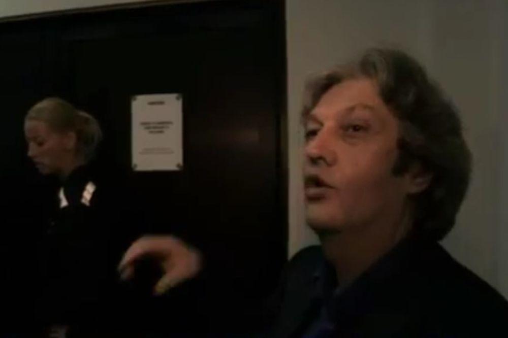 (VIDEO) PROCURIO SNIMAK IZ TAJNE SOBE: Zmaj vrišti iz izolacije, moli Marića za pomoć!