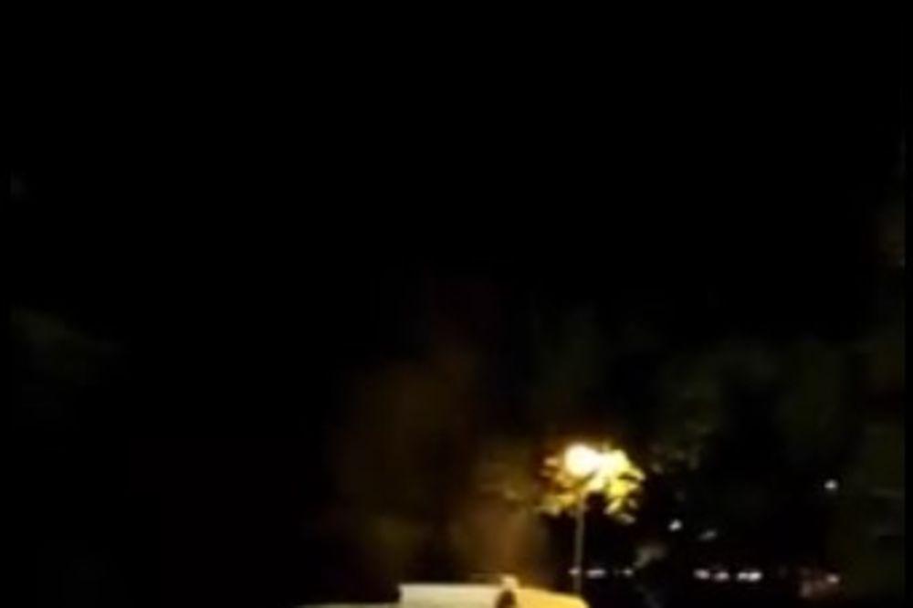 (VIDEO) NEOBIČAN PRIZOR U PODGORICI: Kad se Hitna zadimi...