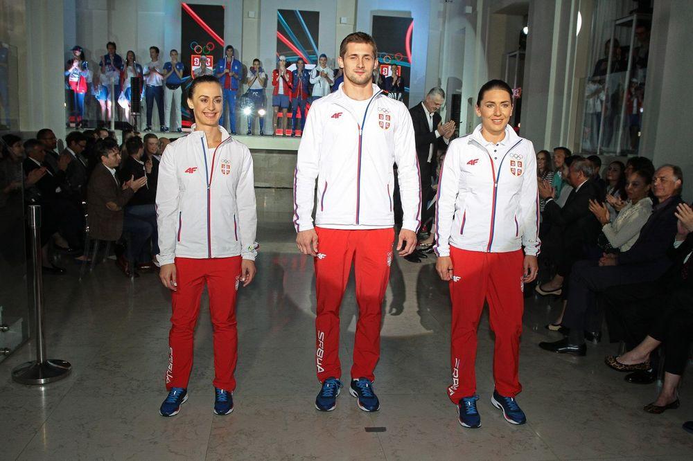 (FOTO, VIDEO) UNIFORMA ZA MEDALJU: Predstavljena oprema srpskih olimpijaca za Rio