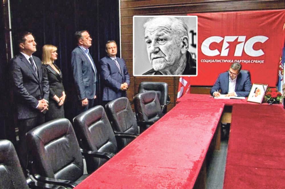 ČITAJTE U KURIRU JADNICI: SPS se trpa u vladu preko mrtvog Bate!