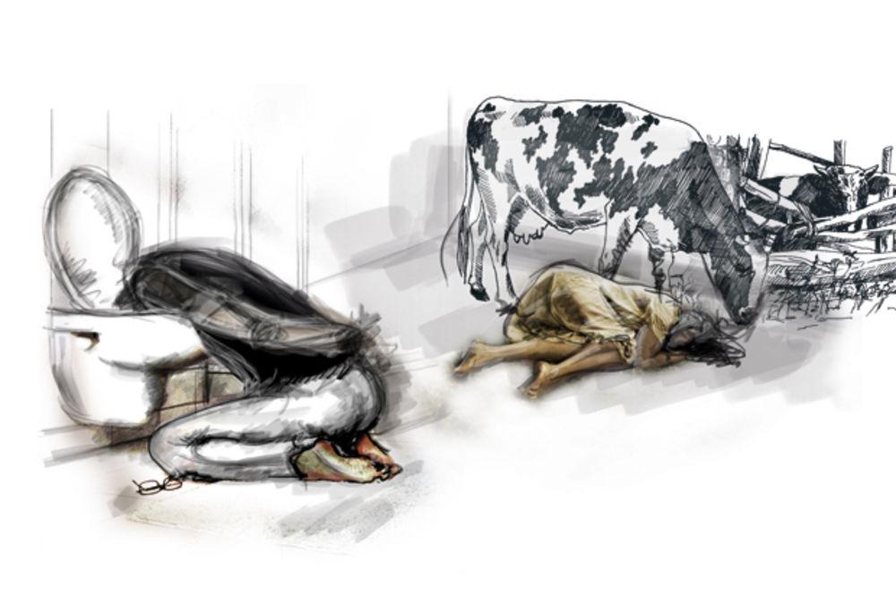 UŽAS U ZAJEČARU: Ocu (90) i ćerki (67) nabili glavu u fekalije!