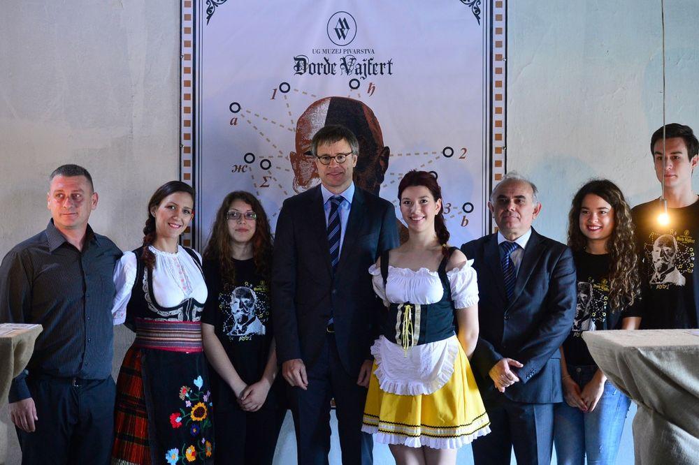 AMBASADOR NEMAČKE U PANČEVU: Ditman otvorio Muzej pivarstva