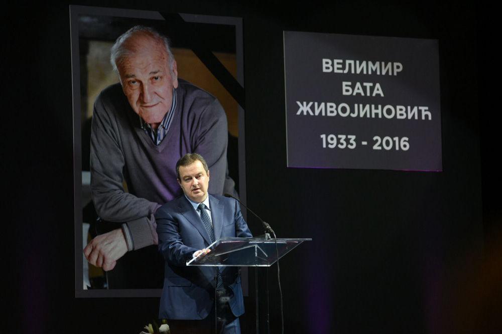 (VIDEO, FOTO) OPROŠTAJ OD BATE Ivica Dačić: Ne ispraćajmo ga suzama jer Valter ne može da umre!