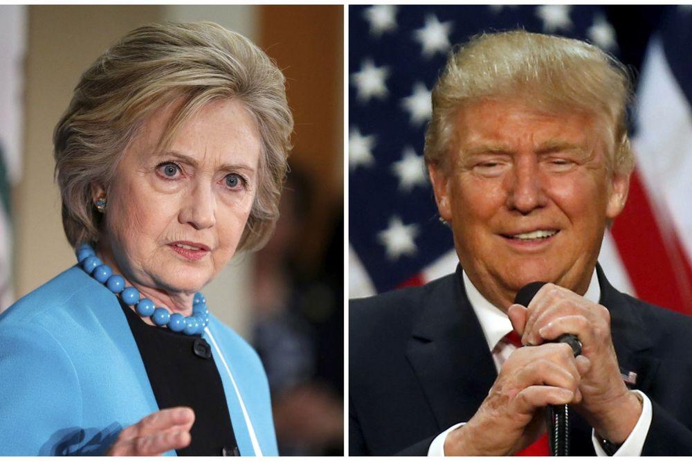 NAJVEĆA PREDNOST DOSAD: Hilari beži Trampu za 12 odsto