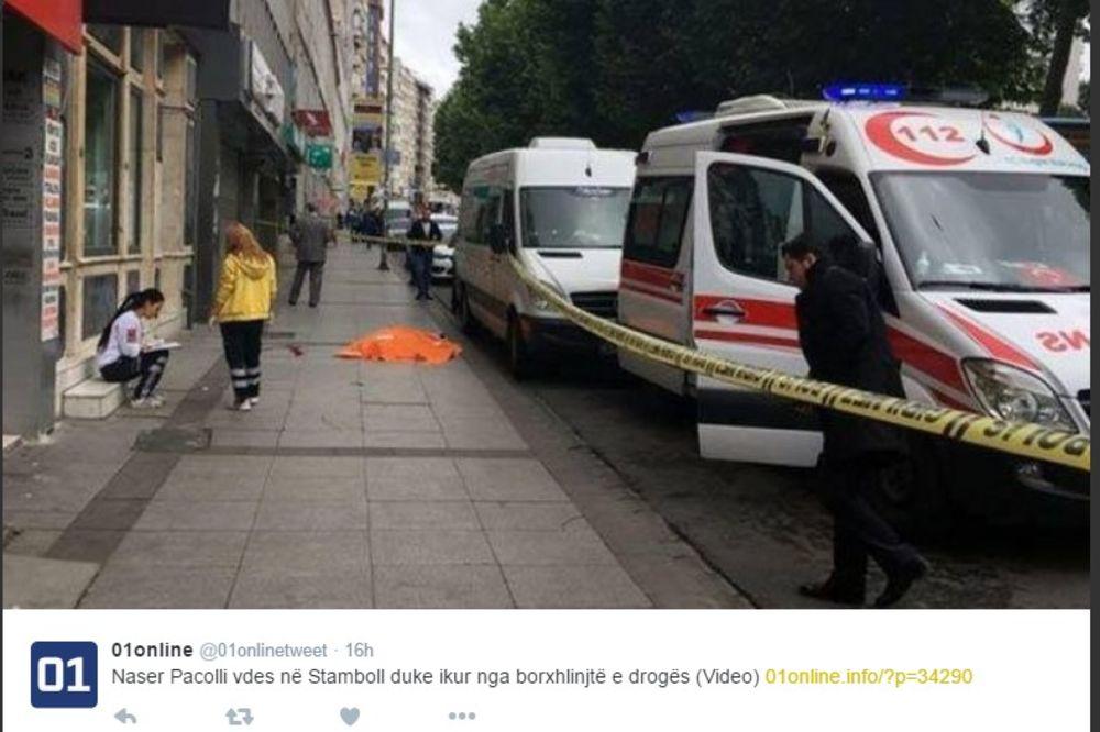 (VIDEO) ALBANAC S KOSOVA POGINUO U ISTANBULU: Zbog duga za drogu skočio sa zgrade