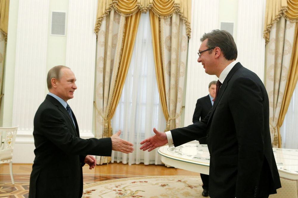 VUČIĆ SE SASTAO S PUTINOM: Rusija računa na dalji razvoj odnosa sa Srbijom
