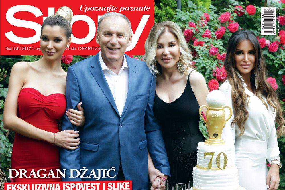 NOVI STORY: Slike i detalji proslave 70. rođendana Dragana Džajića