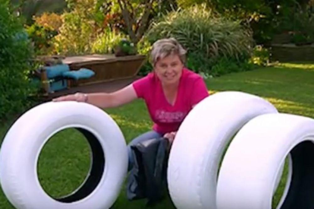 (VIDEO) Smejali joj se kada je gume obojila u belo: A onda su zanemeli!