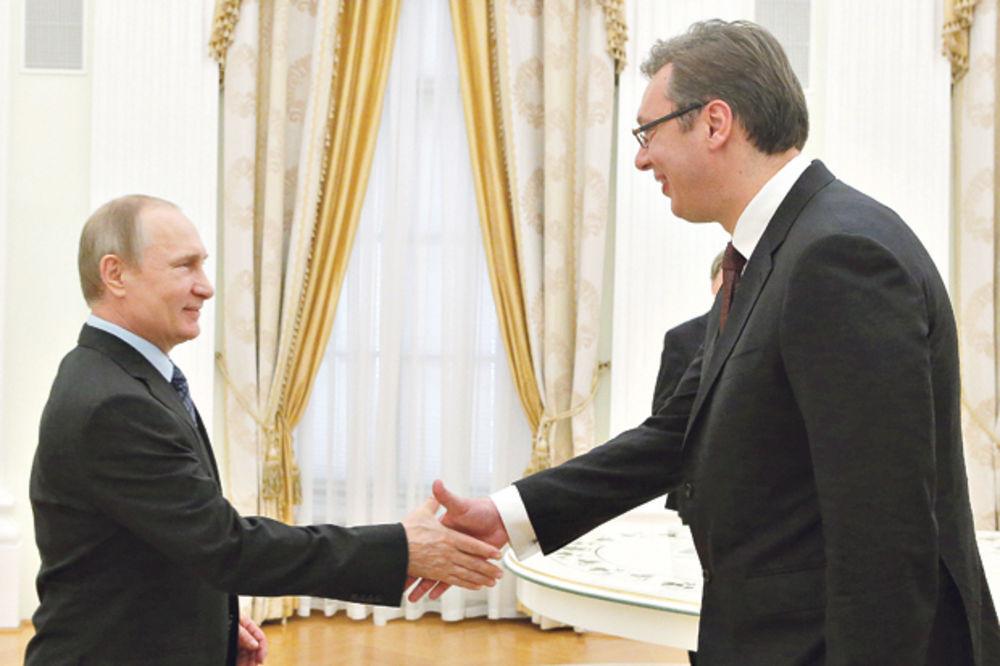 Putin: Vučiću, primi ruske ljude u vladu