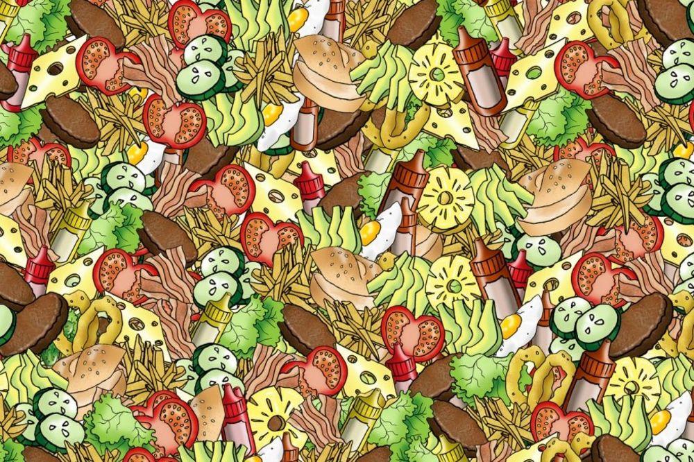 (FOTO) NAJTEŽA MOZGALICA DO SADA: Niko ne može da pronađe čitav krastavac na ovoj slici