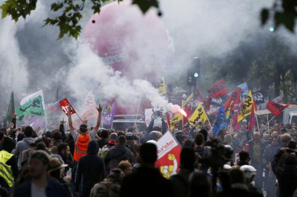 (VIDEO) HAOS U NAJAVI: Francuski sindikati prete prekidom EP u fudbalu?