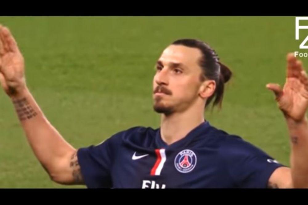 (VIDEO) JEDAN JE ZLATAN: Najluđi potezi najveće barabe u istoriji fudbala!