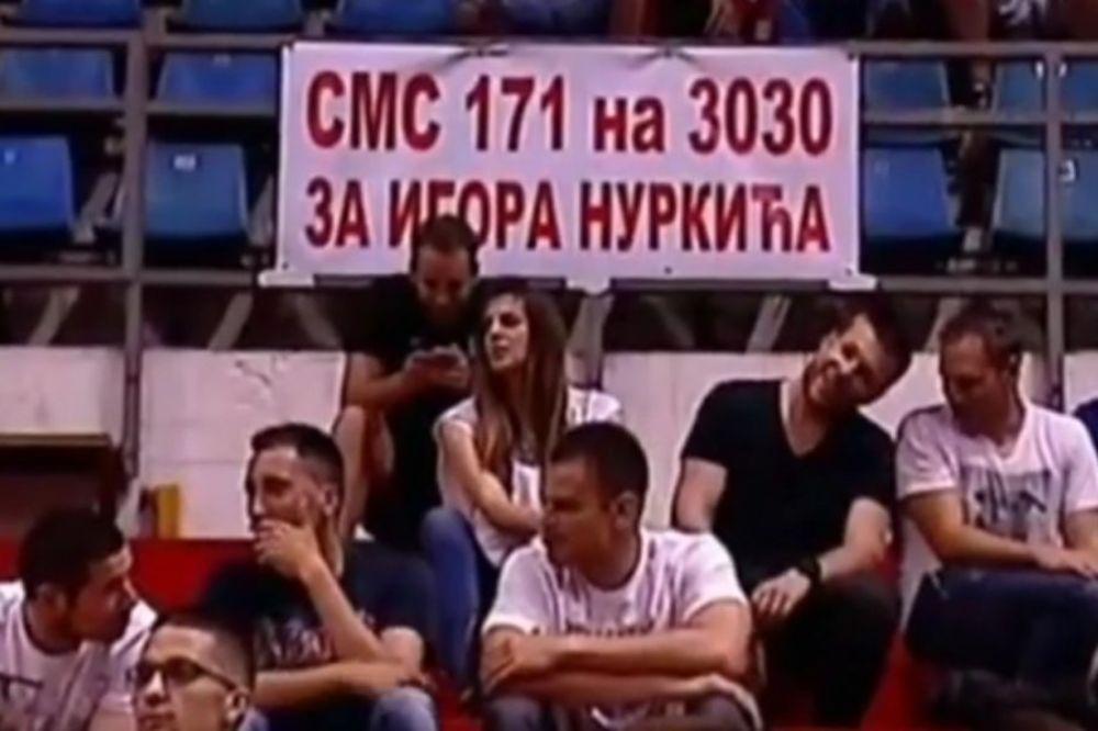 HUMANE DELIJE: Navijači Zvezde vas pozivaju da pošaljete SMS i pomognete džudisti Igoru Nurkiću