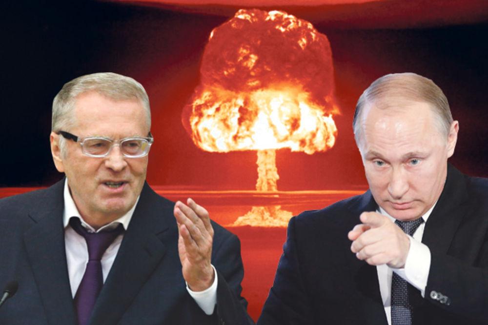 ŽIRINOVSKI ZA SULUDI OBRAČUN SA ZAPADOM: Putine, baci atomsku bombu!