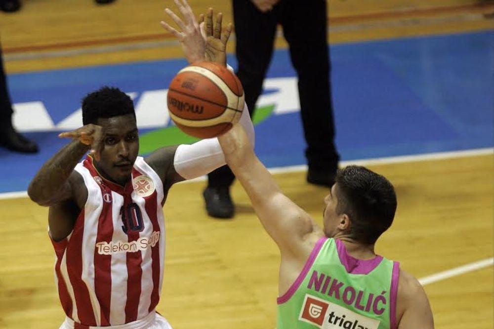 (VIDEO) LOŠE VESTI ZA DELIJE: Povredio se najbolji košarkaš Zvezde!