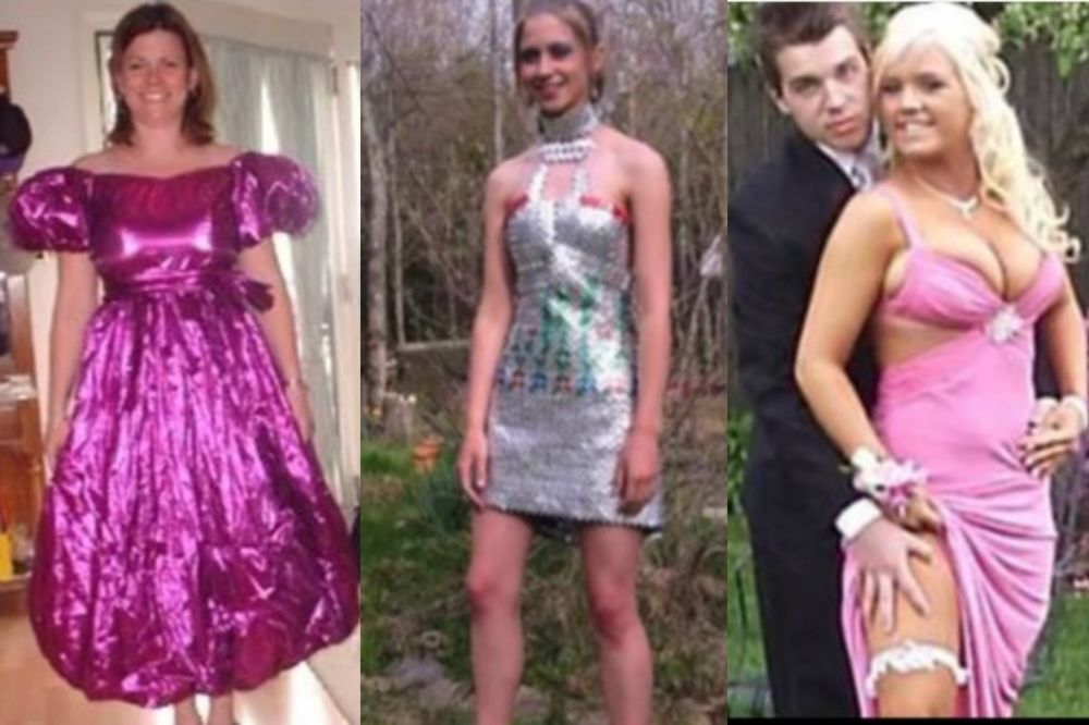 (VIDEO) GDE SU GLEDALE KADA SU IH BIRALE? Pogledajte kako izgledaju najružnije matruske haljine ikad