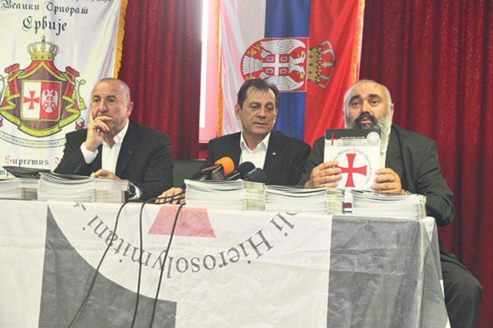 Templari štite srpske svetinje na Kosmetu
