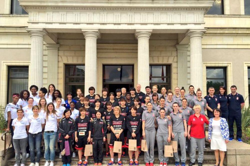 Evropske šampionke izgubile prvi meč na turniru u Anžeu