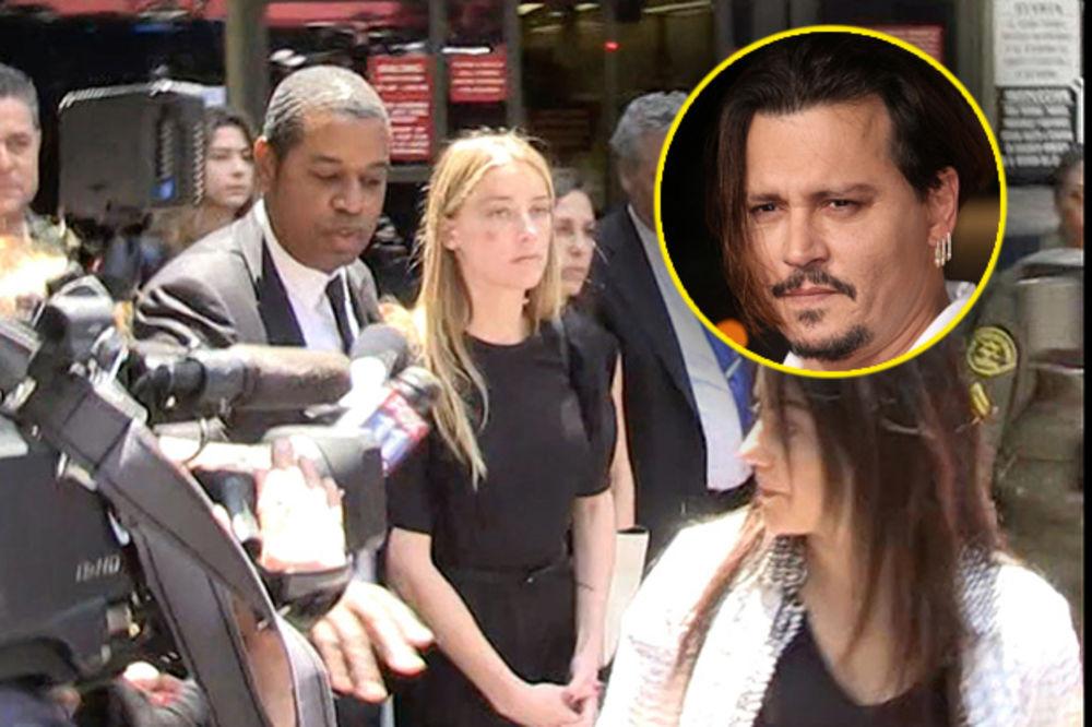 (FOTO) DŽONI DEP ISTUKAO SUPRUGU: Amber Herd tužila glumca za nasilje!