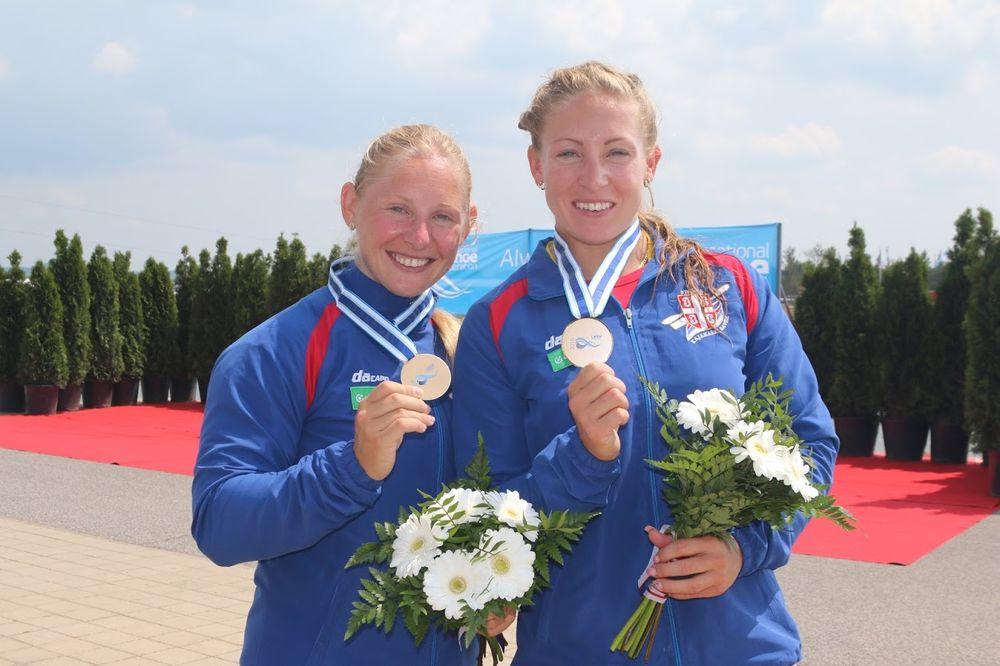 (VIDEO) SJAJAN USPEH: Sestre Moldovan osvojile bronzu na Svetskom kupu