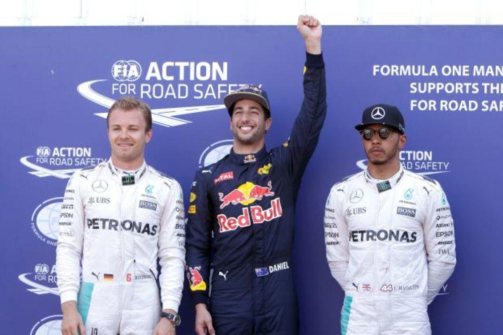 UZBUDLJIVE KVALIFIKACIJE U F1: Rikardo u Monaku stigao do prve pol pozicije u karijeri