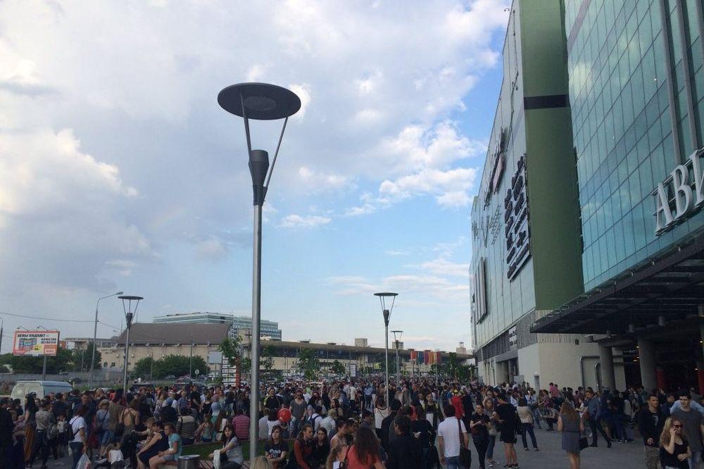 UZBUNA U MOSKVI: Stotine evakuisane zbog dojave o bombi u tržnom centru