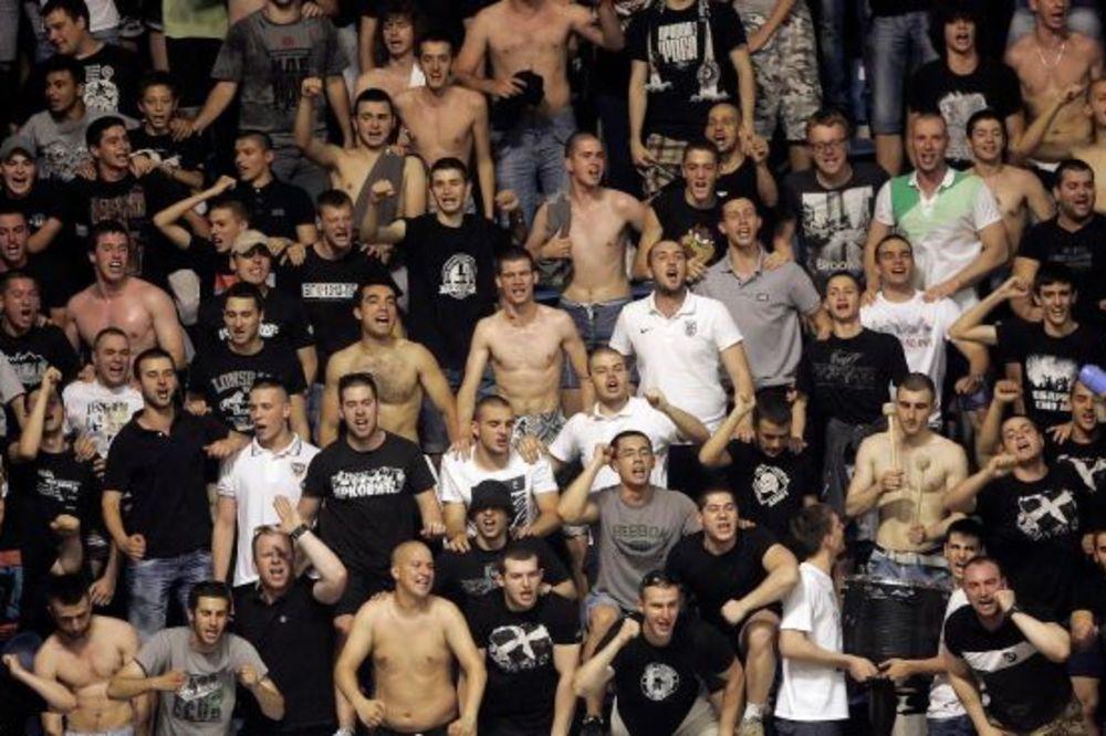 FMP ZABRANIO GROBARIMA ULAZAK U HALU: Ne želimo kvaziopozicione predstave navijača Partizana