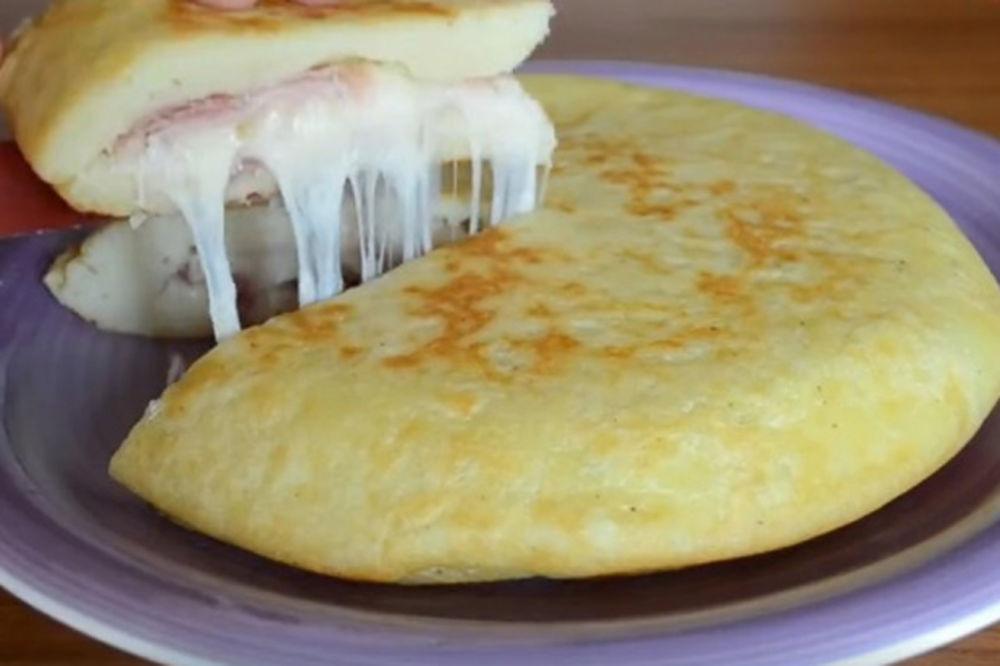 (VIDEO) Kremasta i sočna pita iz tiganja: Ručak za celu porodicu!