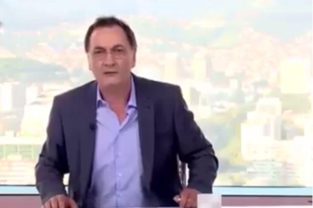 (VIDEO) NAJAVA VODITELJA KOJA JE ŠOKIRALA BALKAN: Dobar dan, srbende, poturice i ustaše...