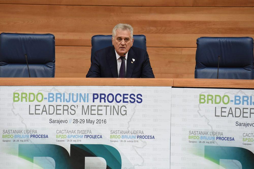 SAMIT BRDO-BRIONI Nikolić: Probleme sa Zagrebom prevazilazićemo direktno