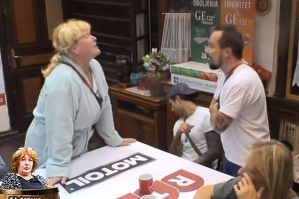 (VIDEO) NOVI INCIDENT: Nemanja otkrio Kevinu tajnu, ona poludela!