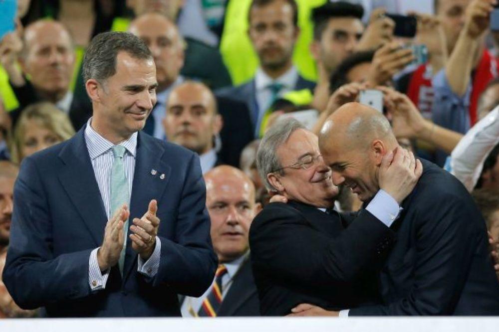 PREDSEDNIK REALA DIRNUO SVET: Evropsku titulu posvećujeno navijačima koje je ubila Islamska država
