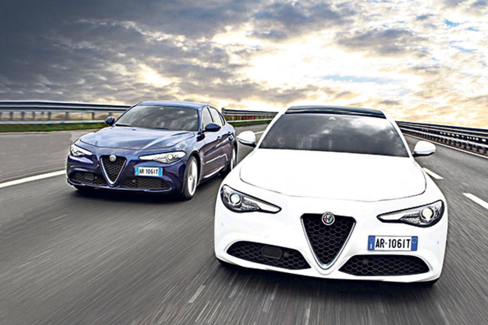 ITALIJANSKA FURIJA: Alfa Romeo predstavio gamu đulije