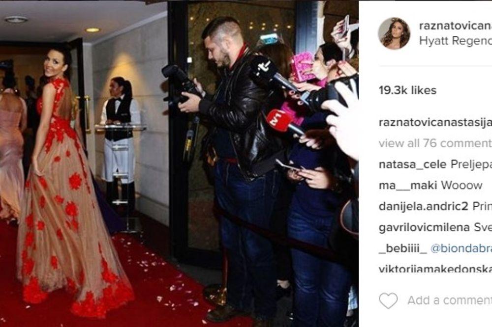 (FOTO) SIJAJU KAO DIJAMANT: Anastasijina haljina je oduševila sve, ali cipele sigurno niste videli