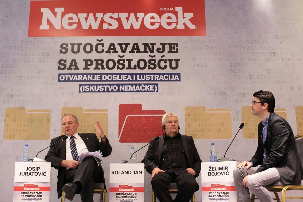 """NJUZVIKOVA TRIBINA """"SUOČAVANJE SA PROŠLOŠĆU"""" Juratović: Poglavlja 23 i 24 ključna na putu ka EU"""
