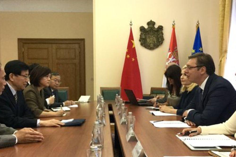 SUSRET VUČIĆA I LI VEJA: Kina u Srbiji ima iskrenog prijatelja i partnera